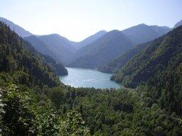Пейзаж Абхазии