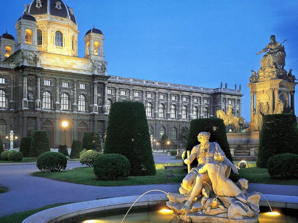 Прекрасная архитектура Австрии
