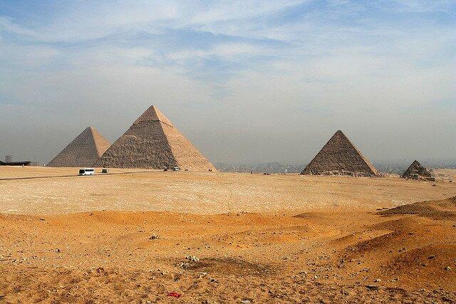 Пирамиды Гизы. Достопримечательность Каира