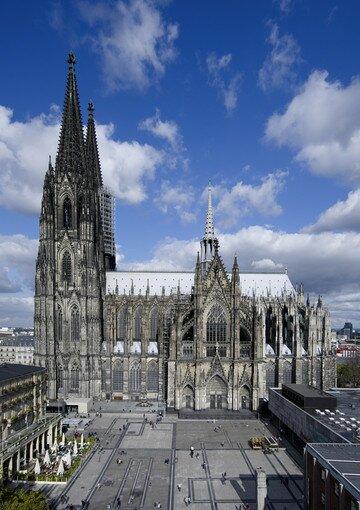 Достопримечательность Кельна. Фото Кельнского собора