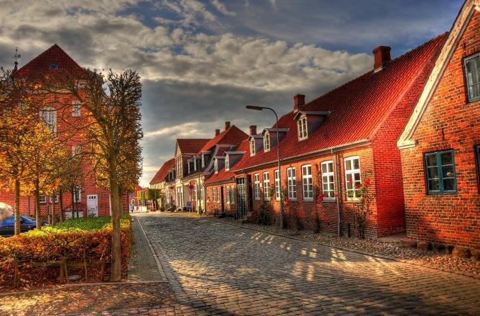 Дания. Природа