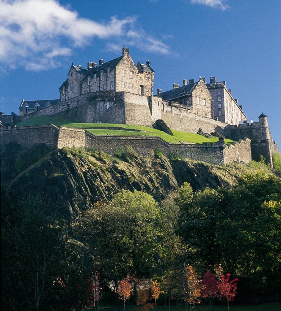 Эдинбургский замок — символ Эдинбурга