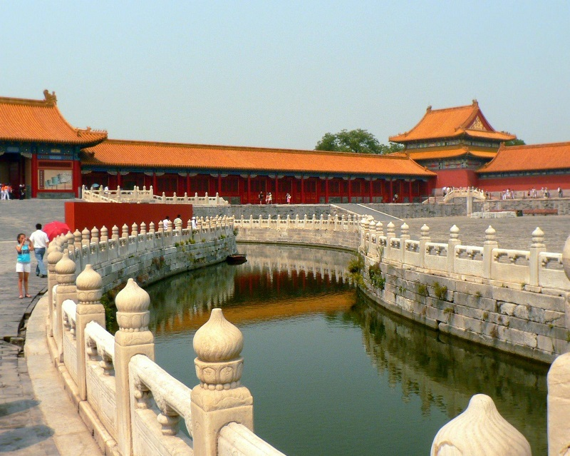 Курорт Запретный город, Императорский дворец в Пекине