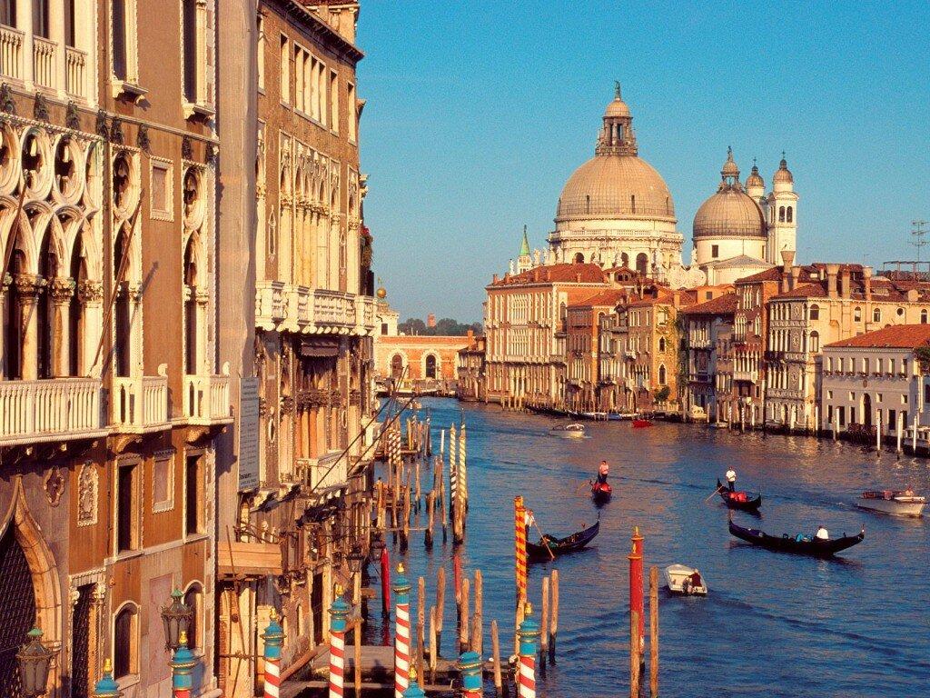 Италия. Фото Венеции