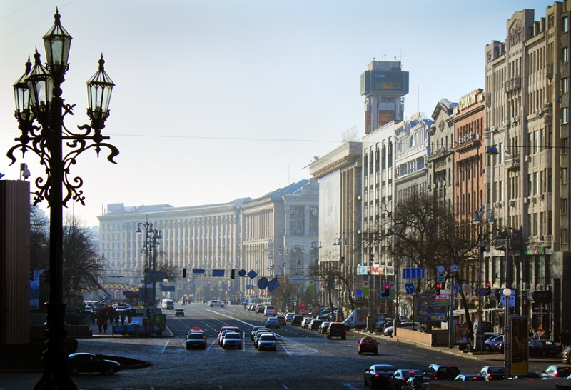 Хрещатик, Крещатик - достопримечательность Киева