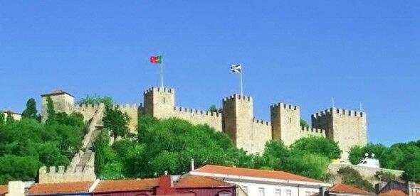 Крепость св. Георгия. Достопримечательности Лиссабона
