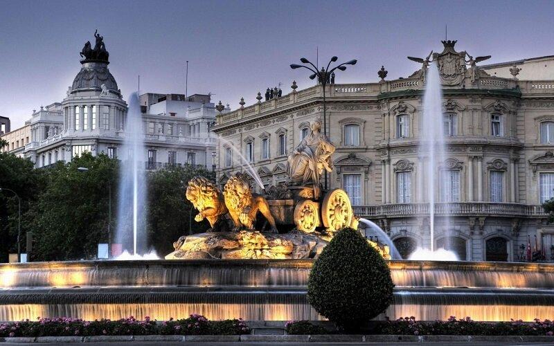 Мадрид - живописная столица Испании