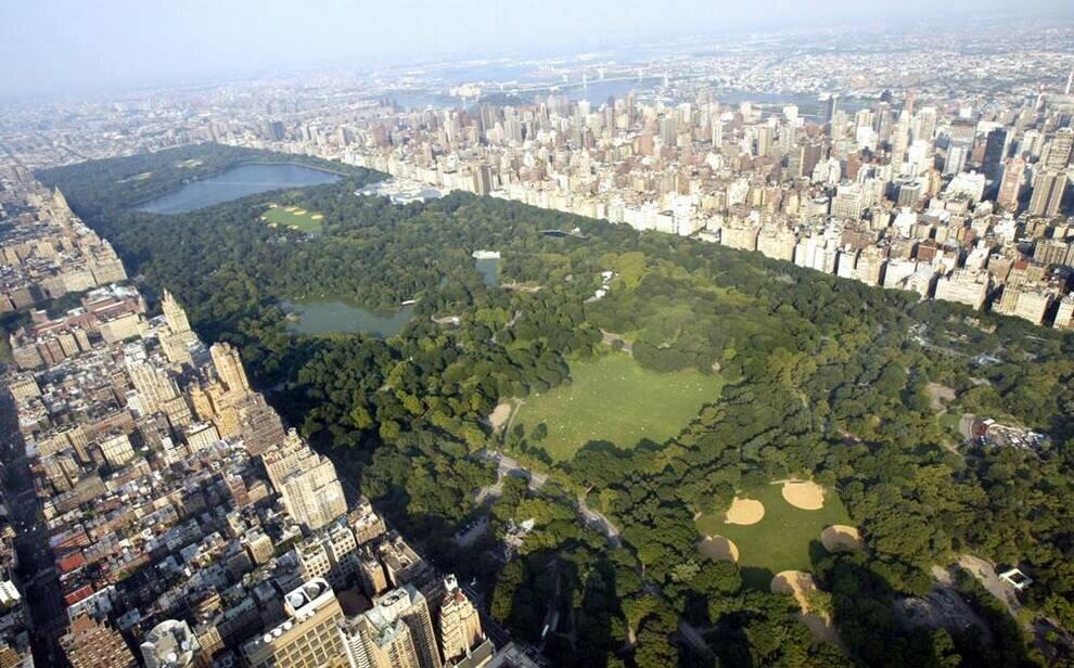 Центральный парк - достопримечательность Нью-Йорка