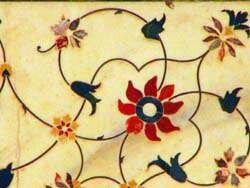 Орнамент стен Тадж-Махала