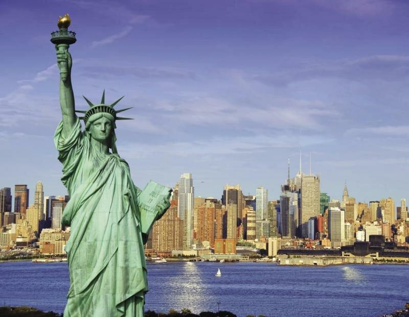 США. Статуя Свободы