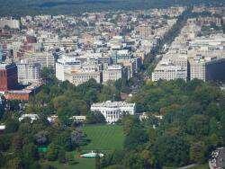 Вашингтон, Washington DC с высоты птичьего полета